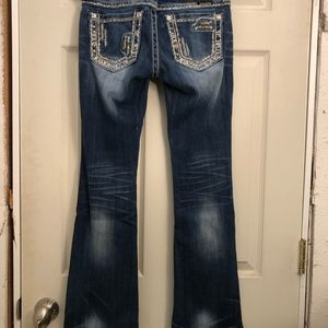 Miss me boot cut size 26